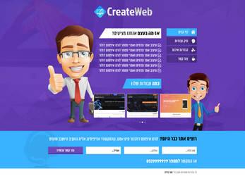 Website Design - CreateWeb - SOLD by MorBarda