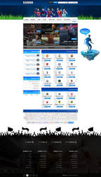 Website Design - Forum Football - Golasso - SOLD by MorBarda