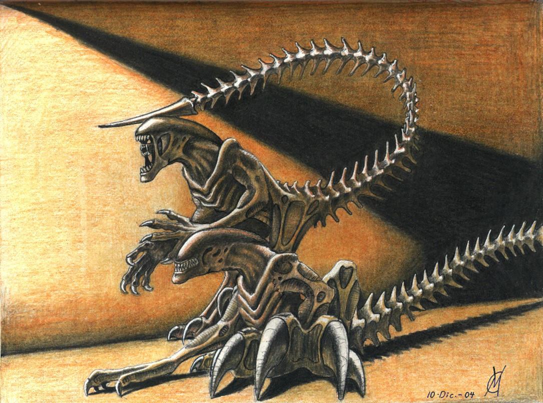 Xenoraptors by VyToR