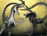 alien vs raptor AVR