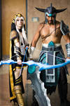 League of Legends Cosplay: Ashe and Tryndamere