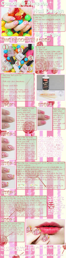 How to - Candy nails