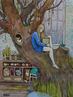 her room III by AnnWeaver