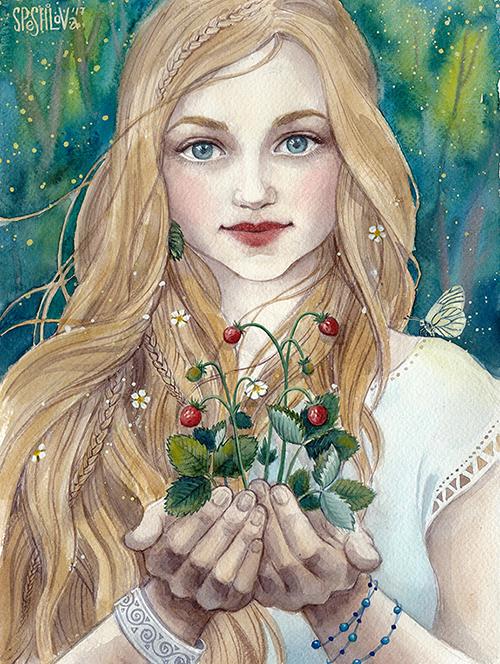 Wild Strawberry by AnnWeaver