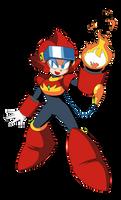 Flare Woman (Mega Man VR) by acediez