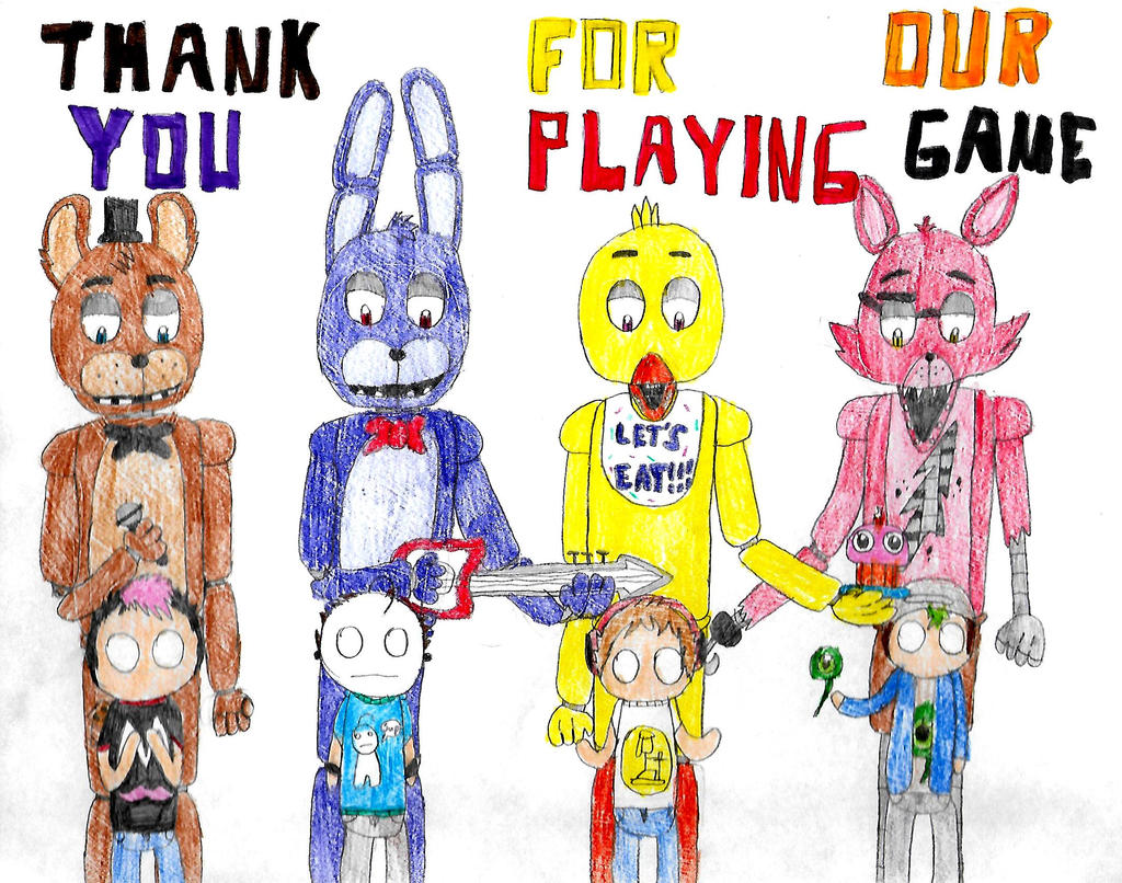 Thank You For Playing Our Game By Megaeeveex On Deviantart