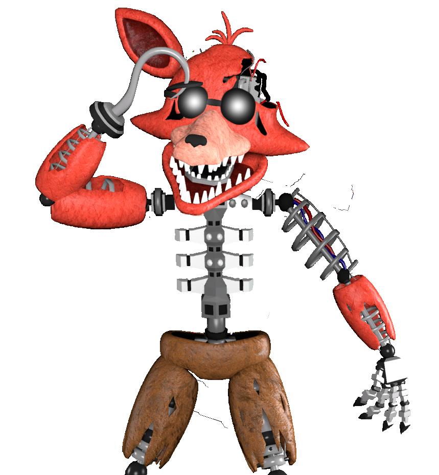 Nightmare Ignited Foxy by PKThunderBolt100 on DeviantArt |Ignited Foxy Full Body