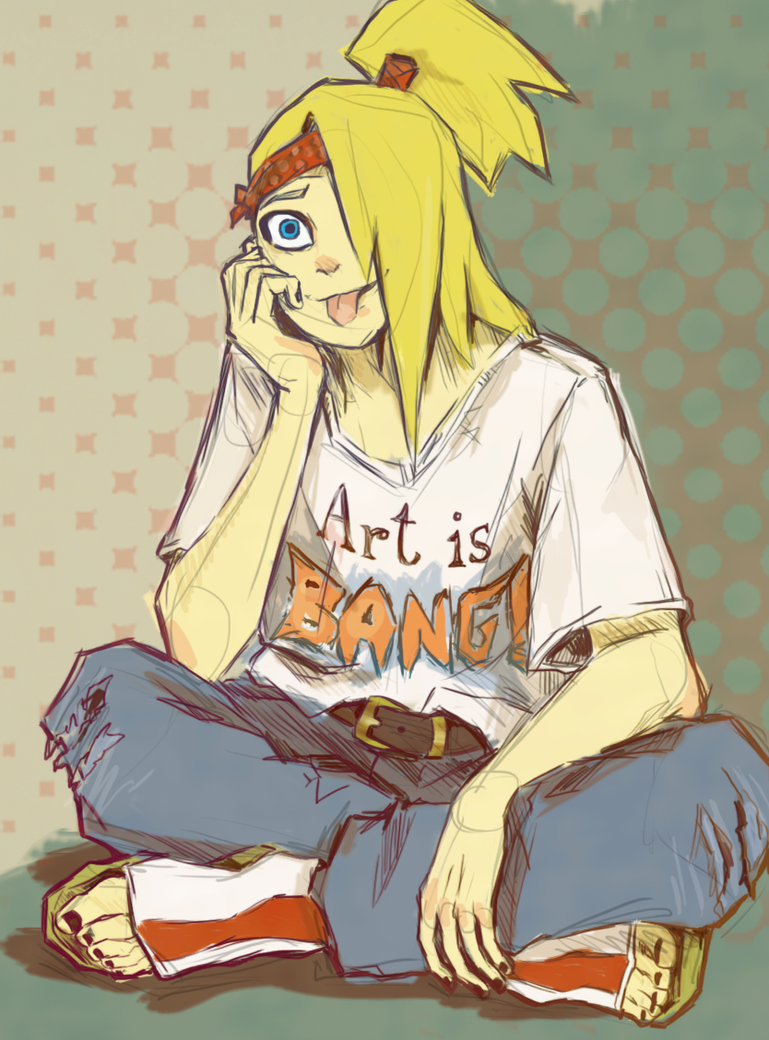 Art is BANG by Leloucha