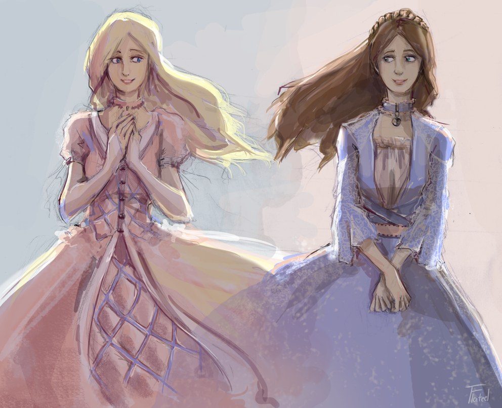 Barbie as the Princess and the Pauper by Leloucha on ...