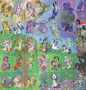 Big 'ol Group Pony Picture