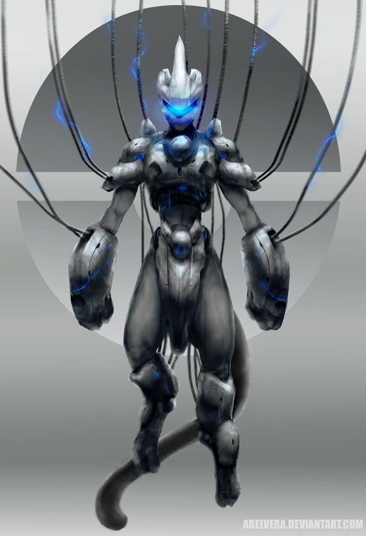 Mewtwo(Armored) by AbelVera