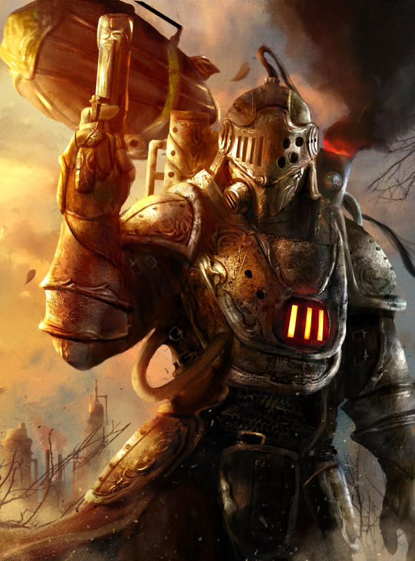Steampunk Warrior By Abelvera On Deviantart