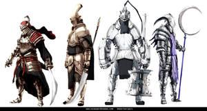 Knights by AbelVera