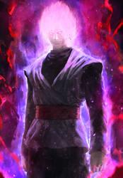 Super Saiyan Rose by AbelVera