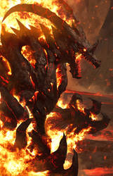 Inferno Behemoth by AbelVera