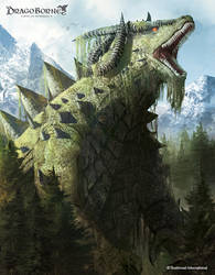 Dragonborne TCG Terraxx, Earthshaker by AbelVera