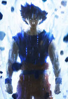 The Birth of Ultra Instinct by AbelVera