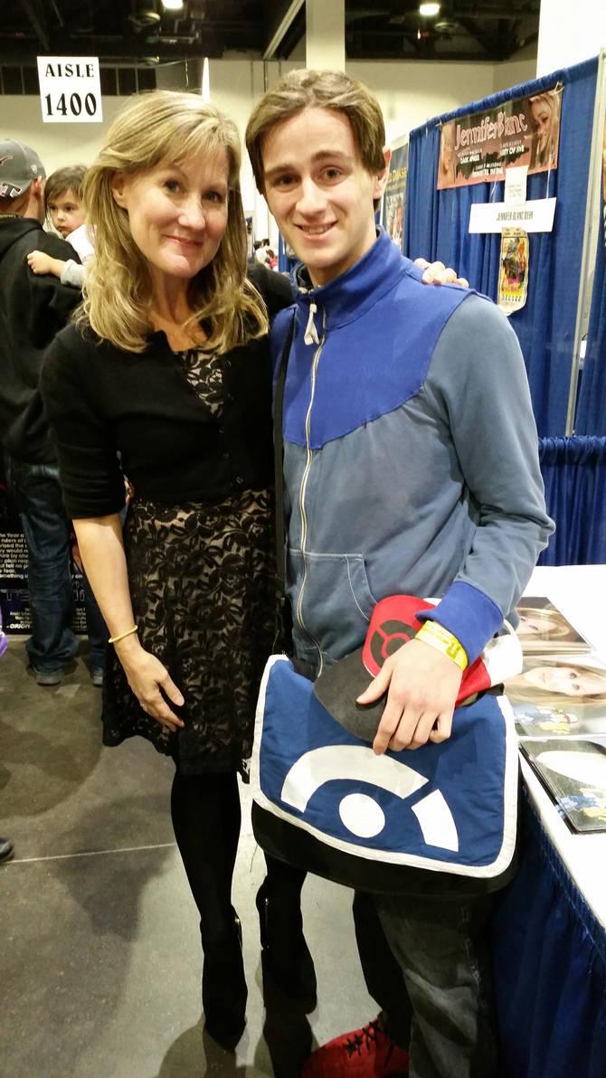 Veronica Taylor at ComicCon!