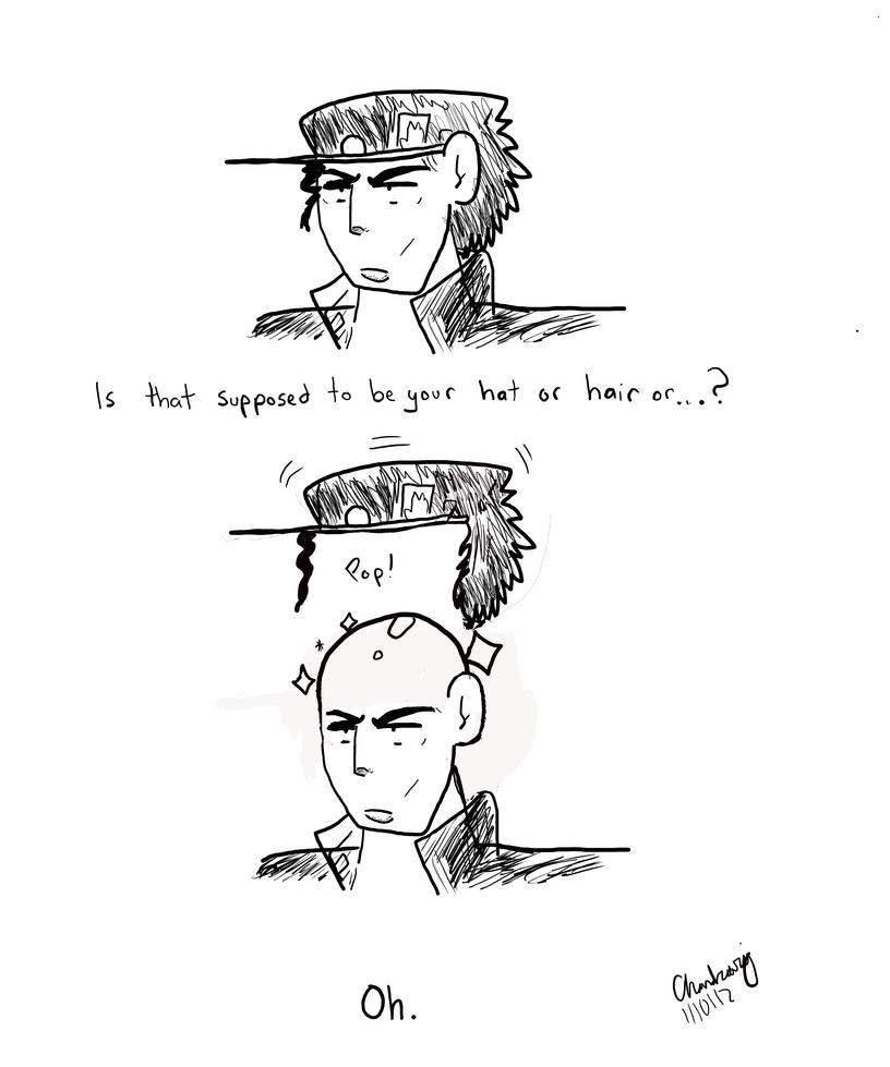 Jotaro's Hat by Chandraraj