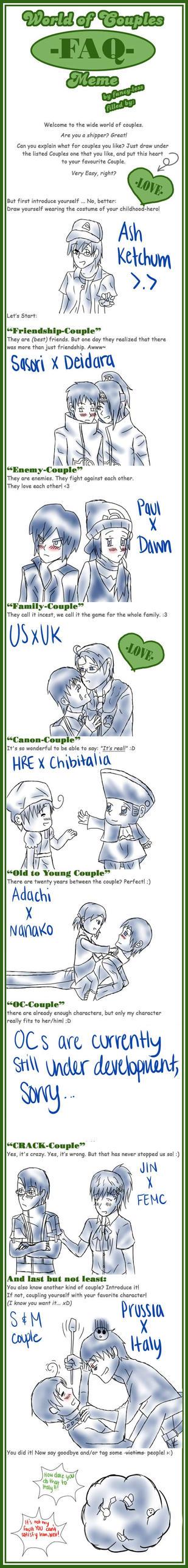 WoC Meme of Awesomeness by naotoshirogane1