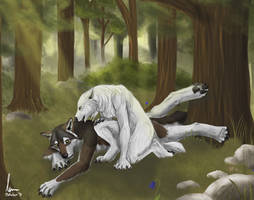 Commission for Firewolf1113 by KeksWolf