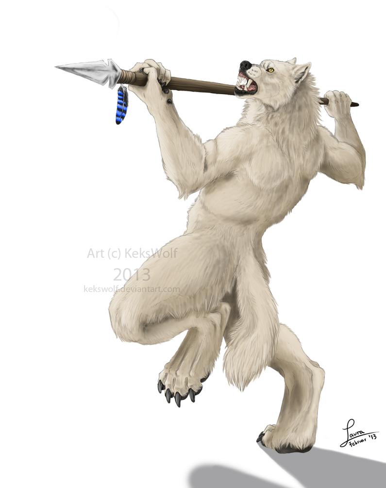 Spear Fighter by KeksWolf