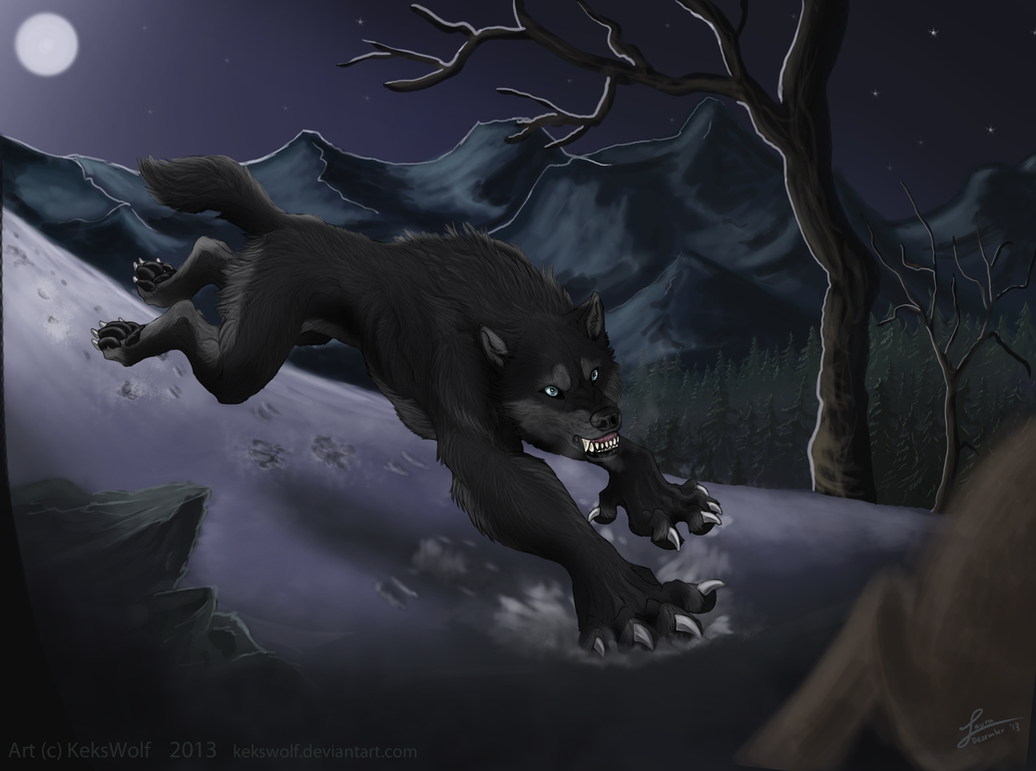 The Attack - Commission by KeksWolf