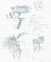 Samurai Spirits Sketches