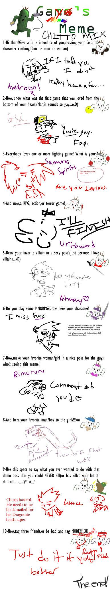 stupid game meme by GringoLee