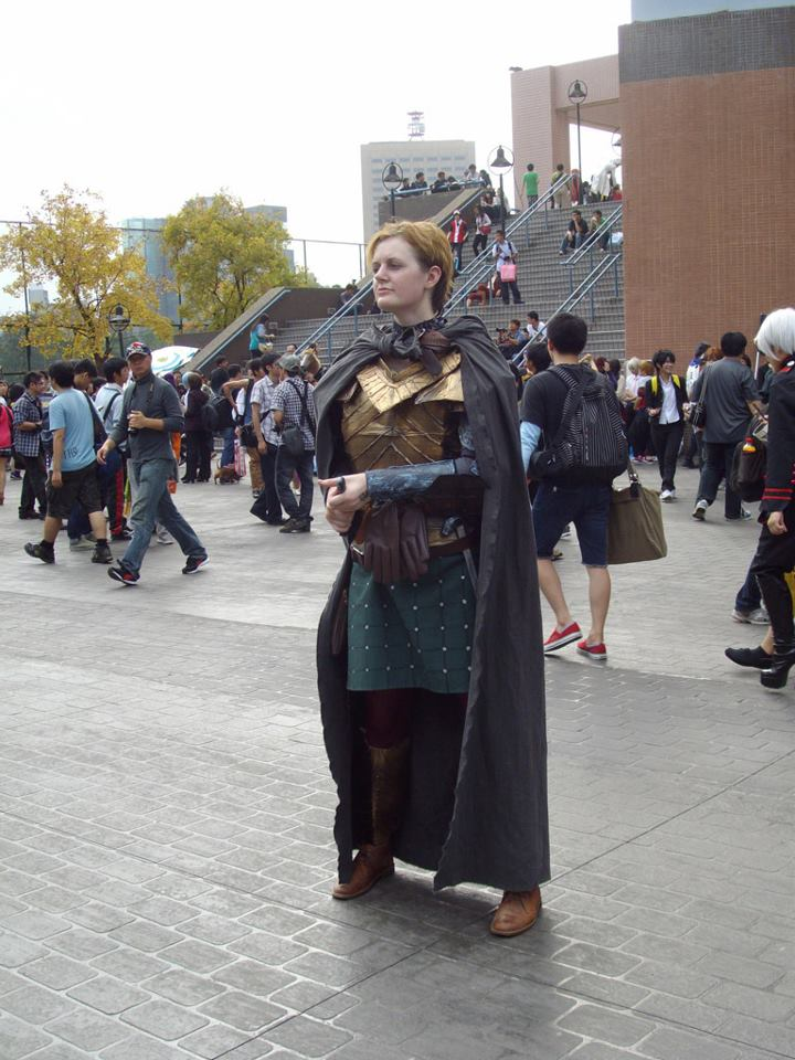 Brienne of Tarth Cosplay by cuttoothom