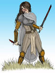 Anath, Barbarian in color