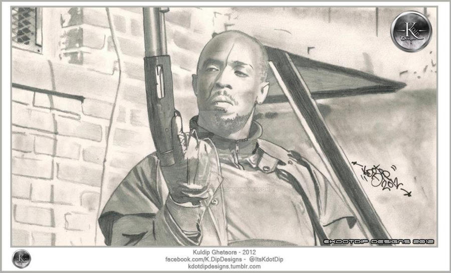 Omar Little By KdotDipDesigns