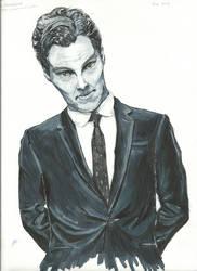 Benedict Cumberbatch by IRuleTheUniverse