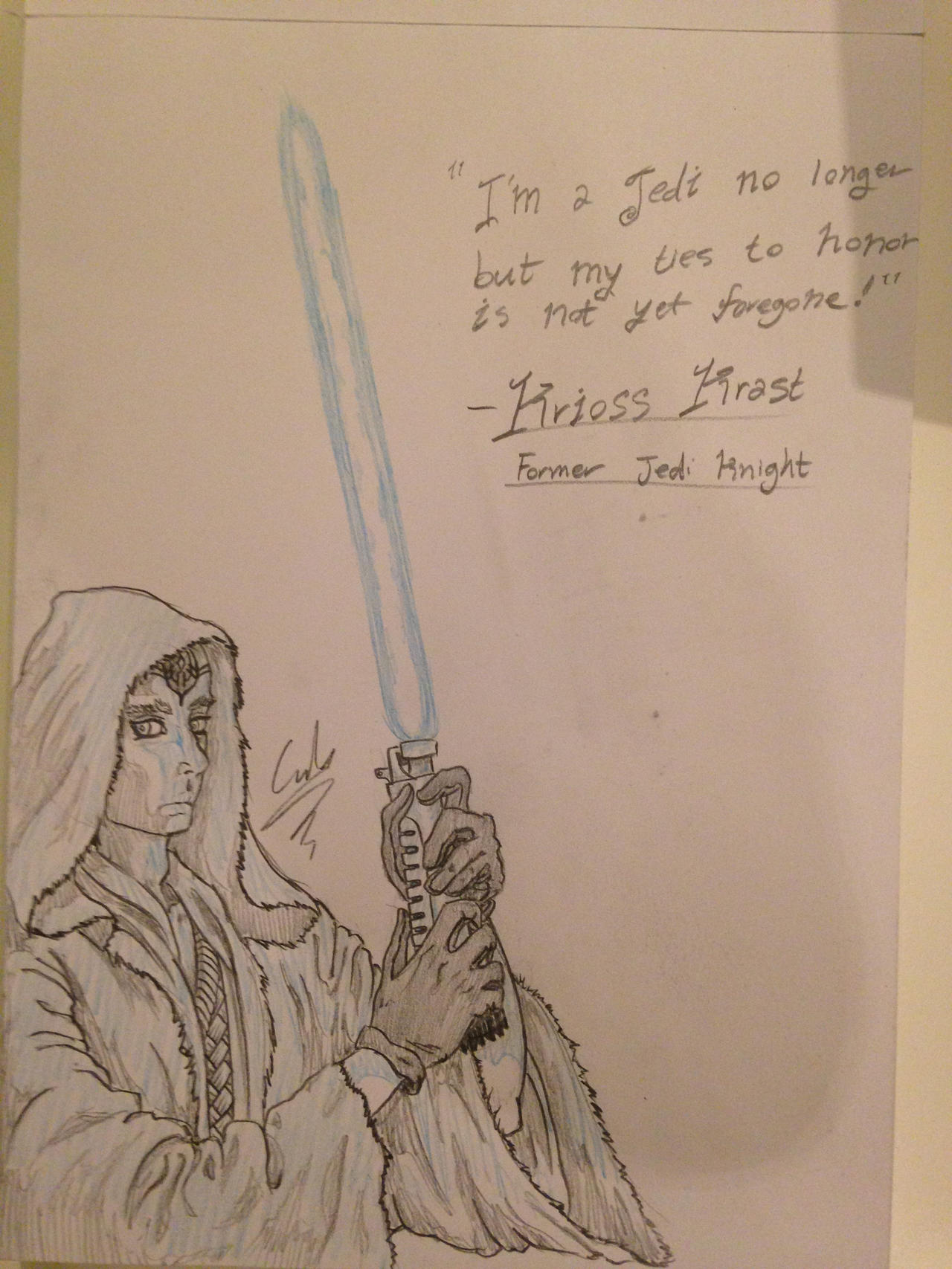 Generic Jedi #1 by Cid-Alderlaine