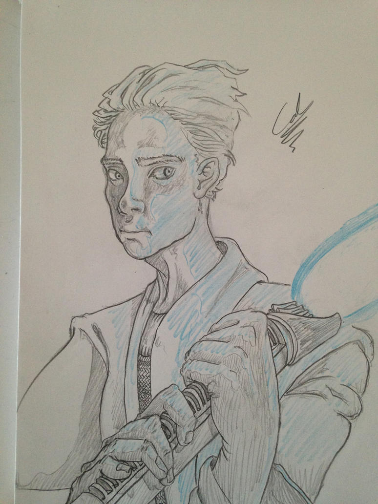 Generic Jedi #2 by Cid-Alderlaine