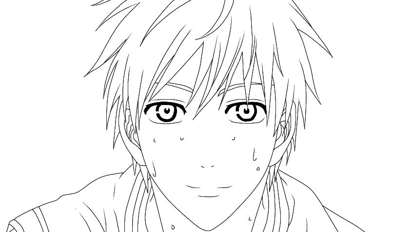 Line Art Kuroko : Lineart kuroko tetsuya by hikari on deviantart
