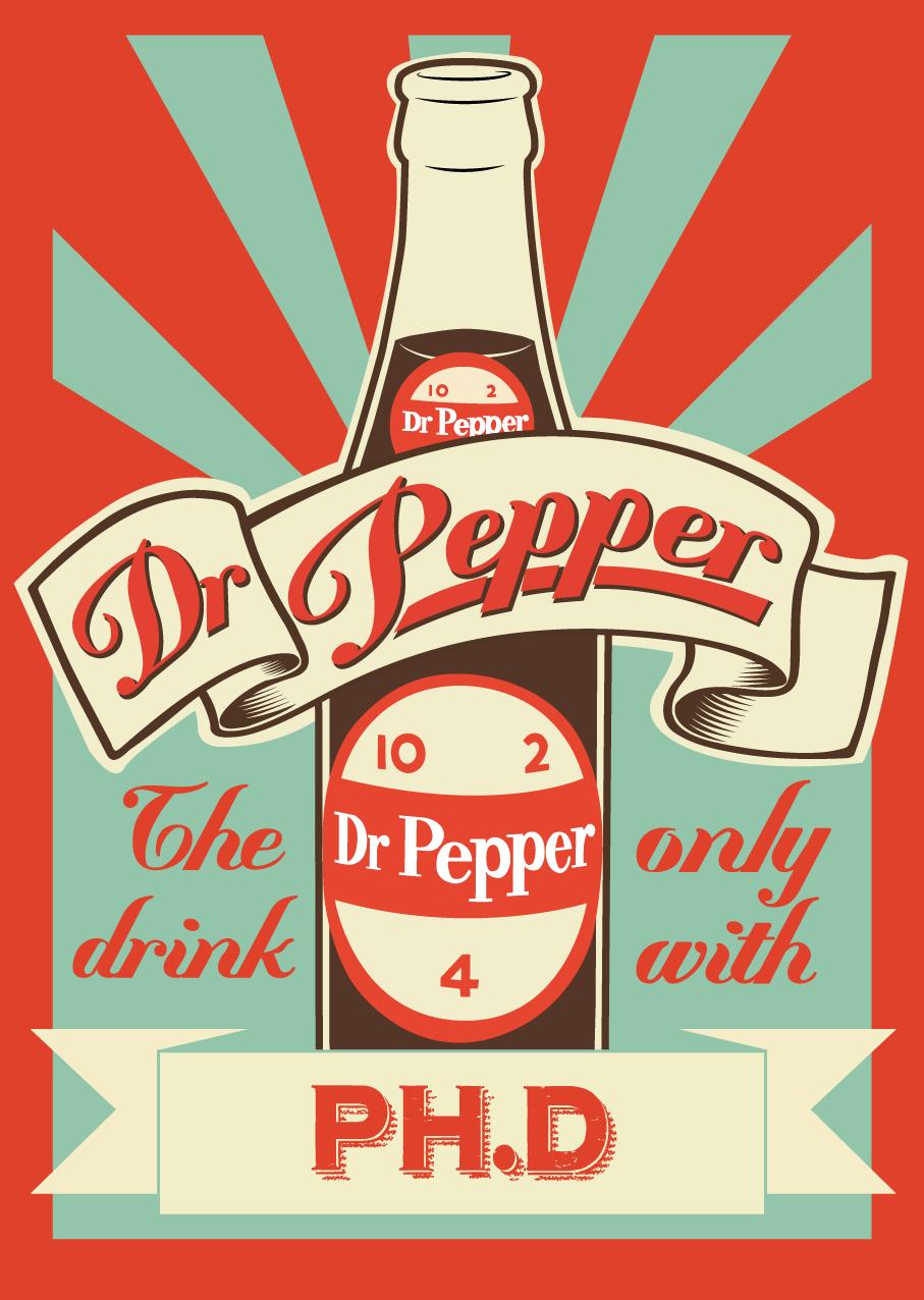Dr Pepper Vintage poster