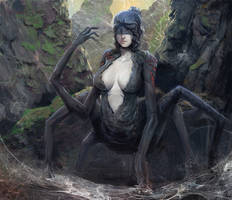 Arachne, the damned by fabianrensch
