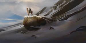 Alpaca Rider by fabianrensch