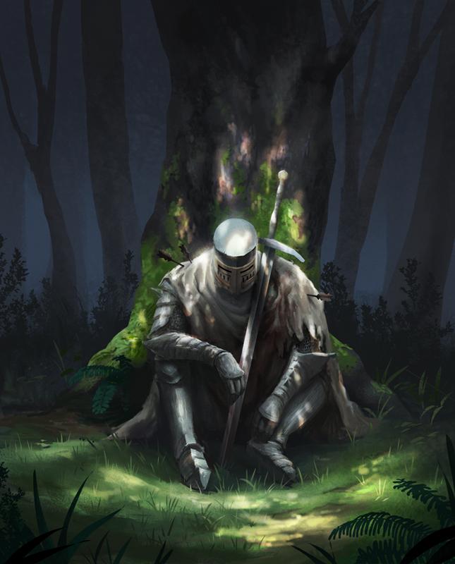 Dark Souls 2: Heide Knight by fabianrensch