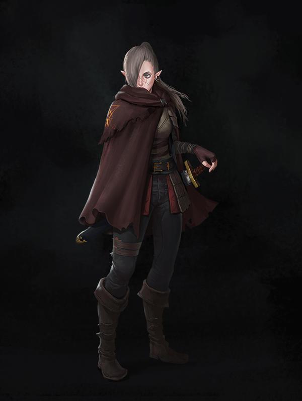 Ayne's Journey - Lydia, the last witch knight by fabianrensch