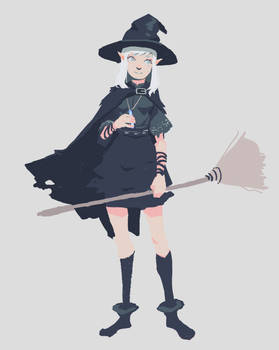 Ayne the little witch