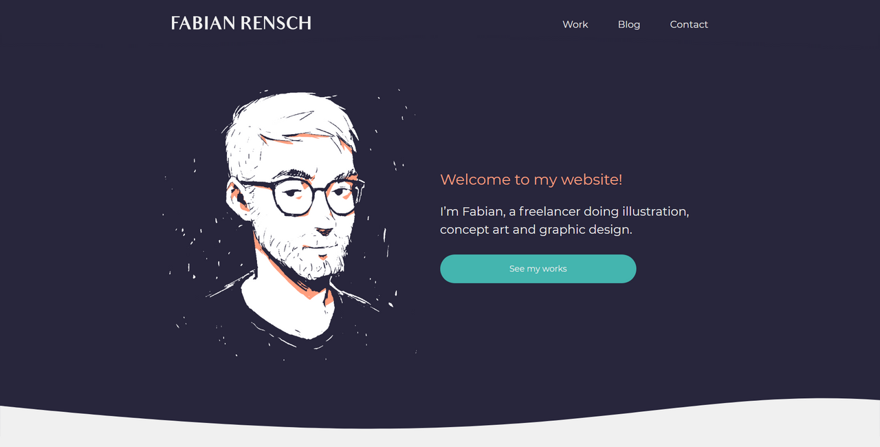 Fabianrensch Website