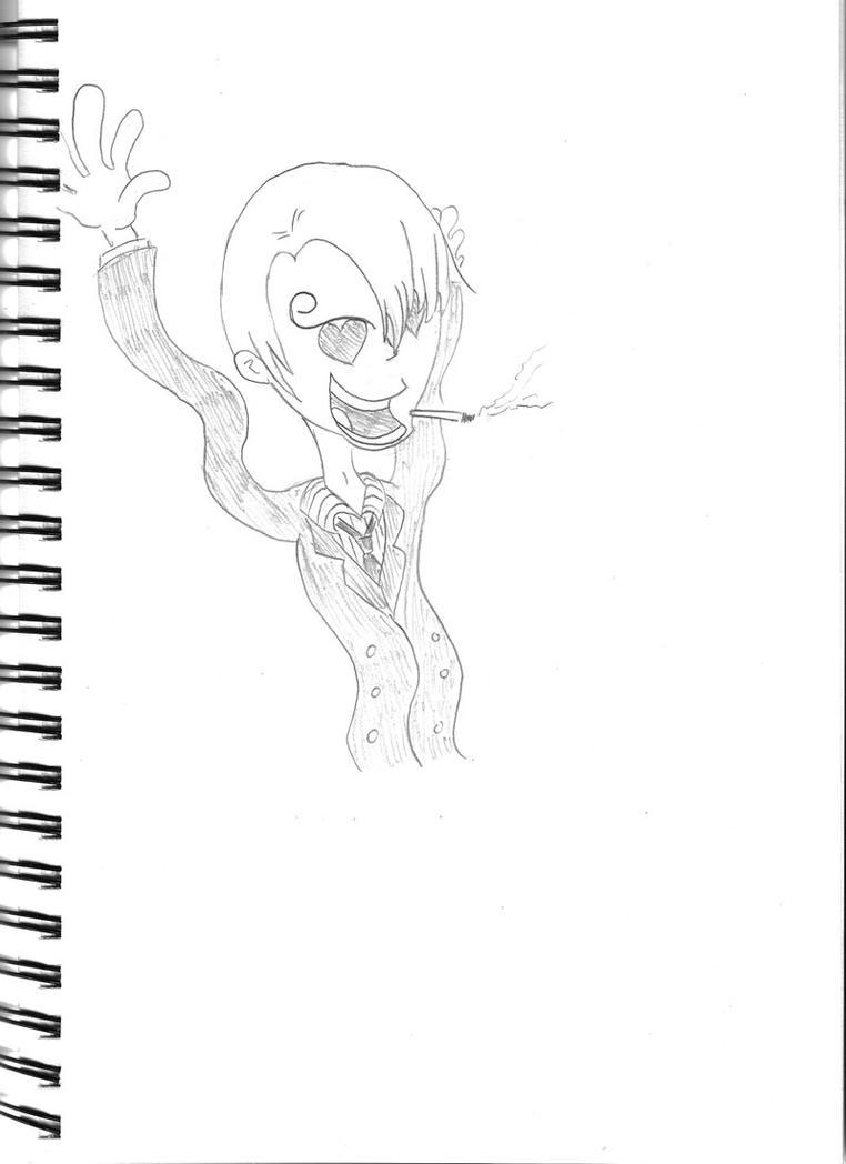 Sanji pencil by Atomicvege