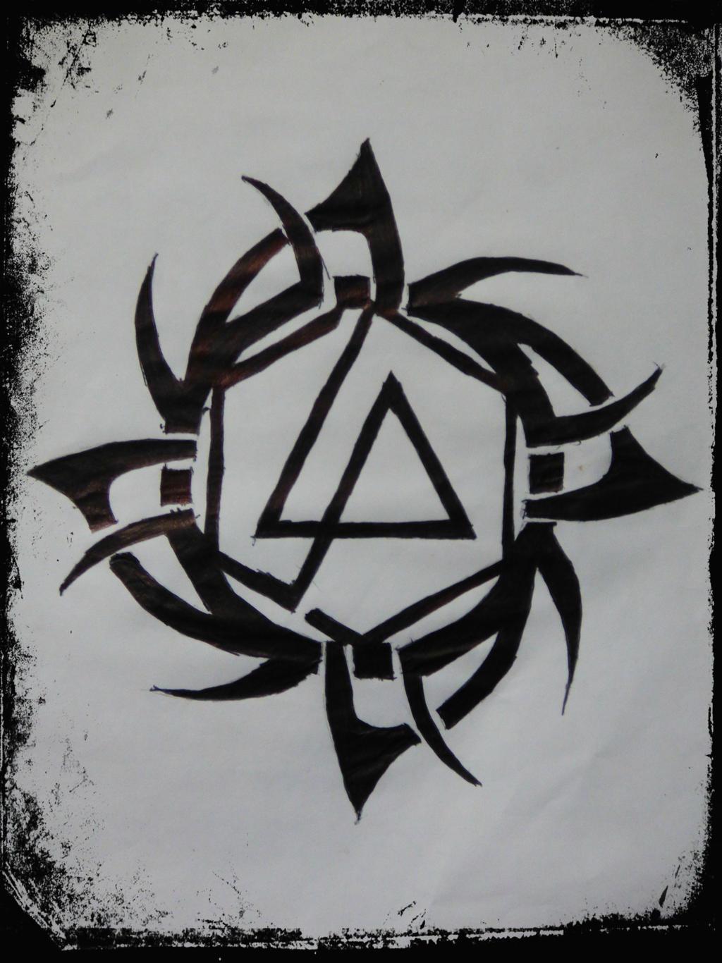 Tribal Art Fan Art Linkin Park Logo By Tkhusark On Deviantart