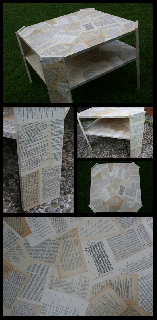 Literature table by Stephy-McFly