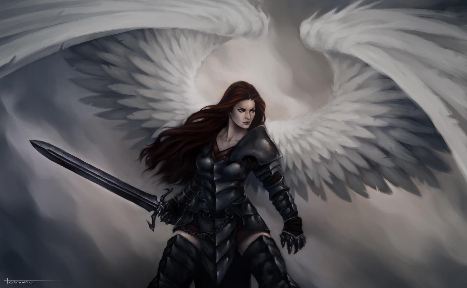 Warrior Angel - 23-06-12 by Lucastorquato27