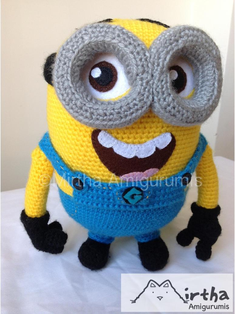 Amigurumi Minions En Crochet : minion Despicable me by Mirtha Amigurumis by ...