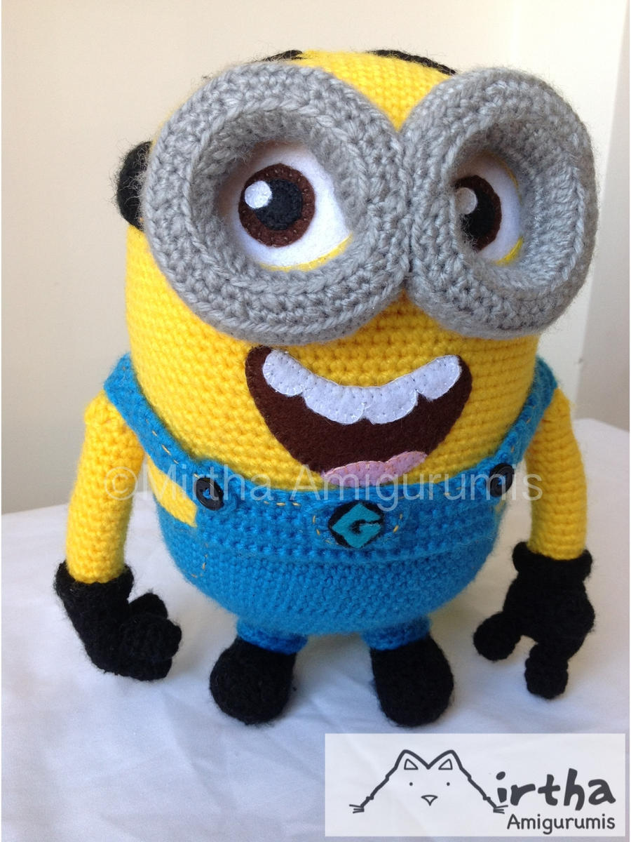 minion Despicable me by Mirtha Amigurumis by ...
