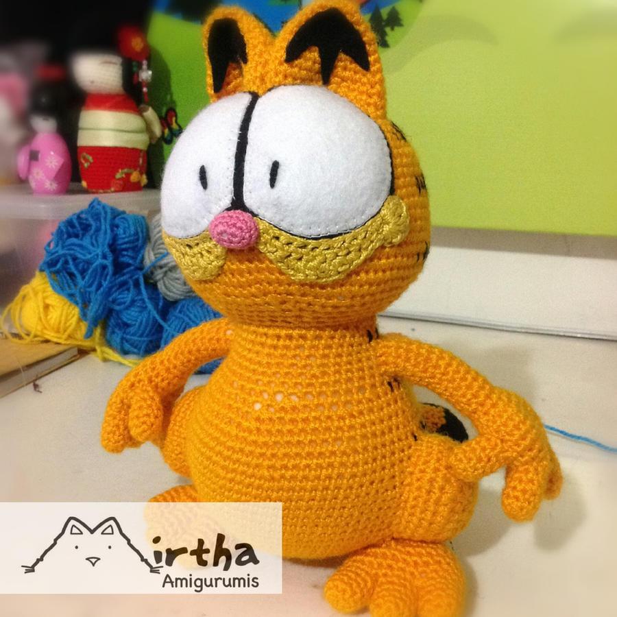 Amigurumi Free Patterns Garfield : Amigurumi Garfield by MirthaAmigurumis on DeviantArt